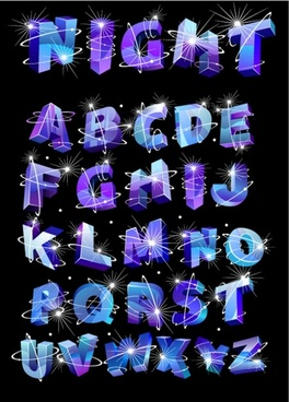 font design series 35 vector