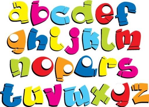 font design series 54 vector