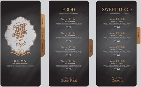 Illustrator template drink menu free vector download (223,551 Free ...