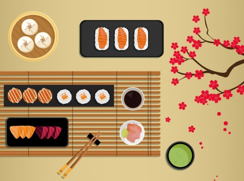food background traditional japanese style decor