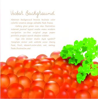food creative vector background