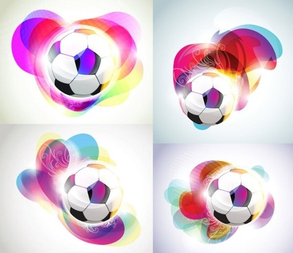 football background with the symphony of the trend vector