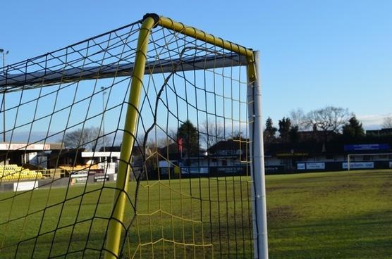 football field gate