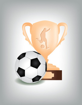 football soccer trophy