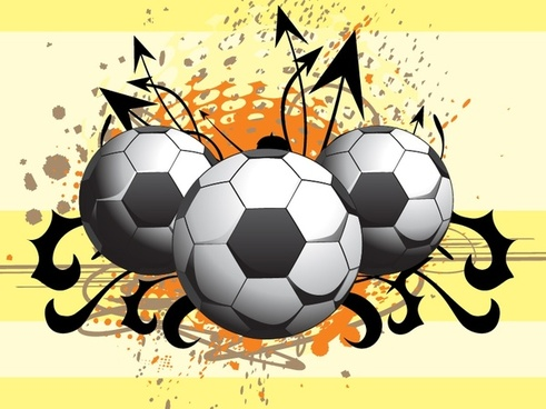 soccer background 3d grunge decor