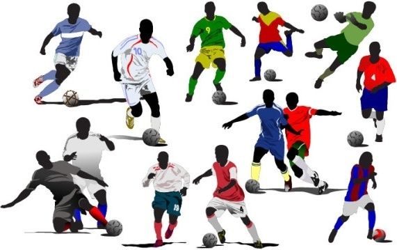 Football Player Vector Free Vector Download 1 033 Free Vector For