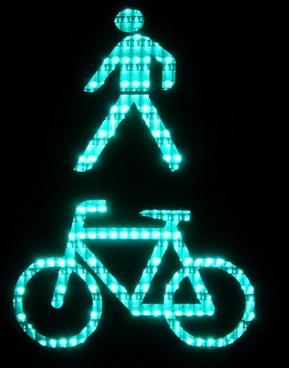 footbridge pedestrian cyclists