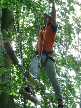 force high ropes course effort