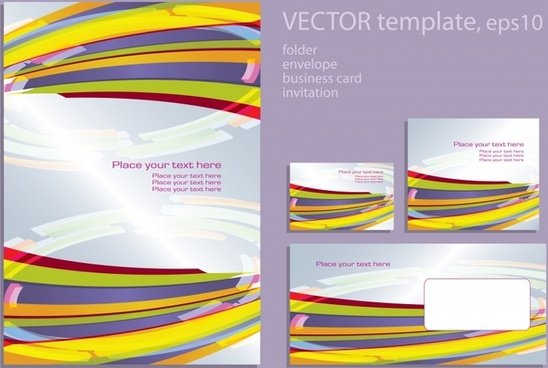 foreign album layout design vector