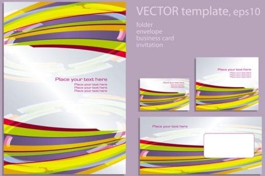 foreign book design 02 vector