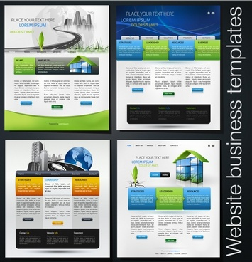 magazine layout templates modern colorful decor