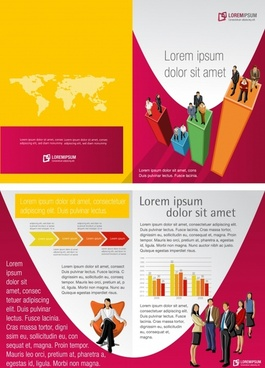 foreign layout design vector