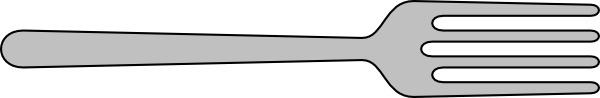 Fork clip art