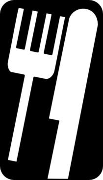 Fork Knife clip art