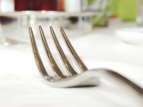 fork metal cutlery