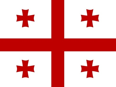 Former Ussr Flag Of Georgia clip art