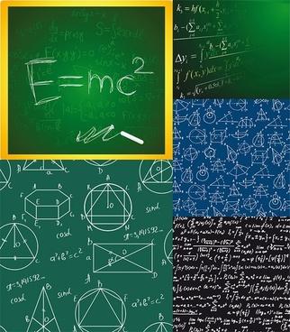 formula background vector