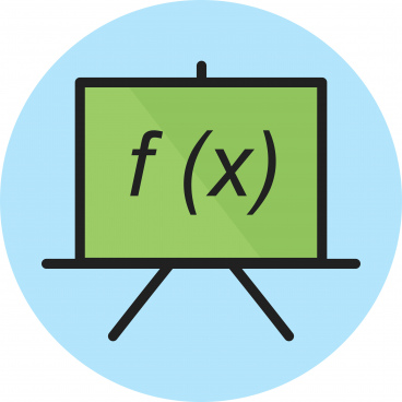 formula line black icon