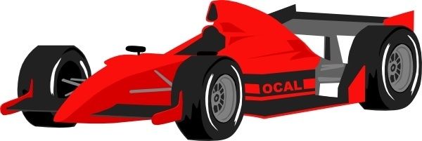 Formula One Car clip art