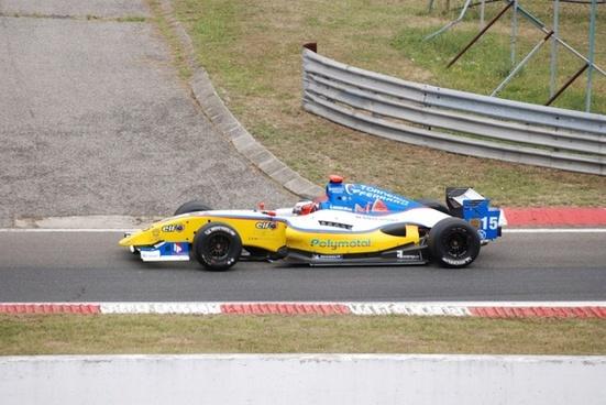 formula sports car at hungaroring