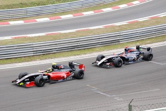 formula sports cars at hungaroring