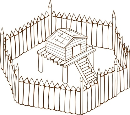 Fort clip art