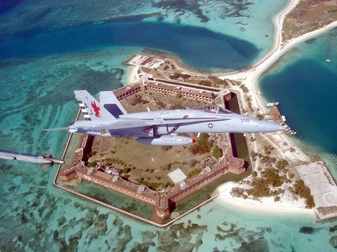 fort jefferson florida f a-18