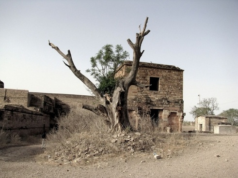 fort ruins house