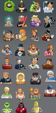 Forum Faces icons 02 icons pack