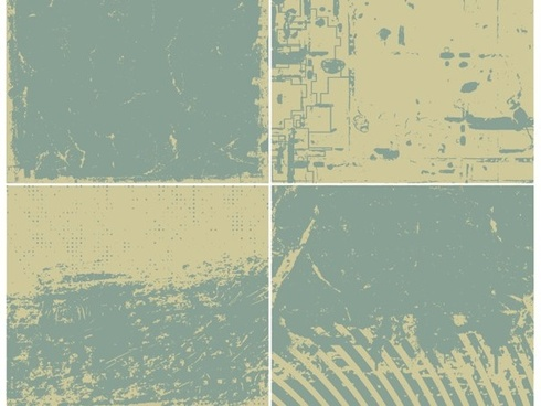 abstract background sets grunge retro style