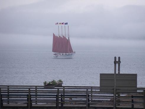 four mast schooner