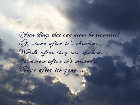 four things quote
