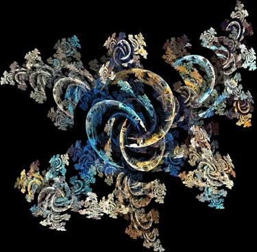fractal blue cream
