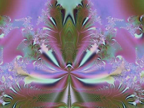 fractal in purple and others