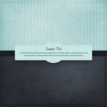 frame message design template