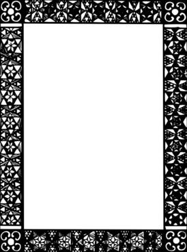 Frame Mono Colored clip art