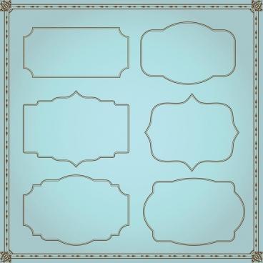frame set decoration