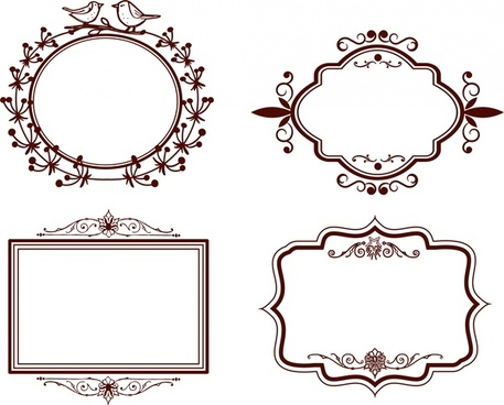 Photoshop shapes frames free vector download (15,143 Free vector ...