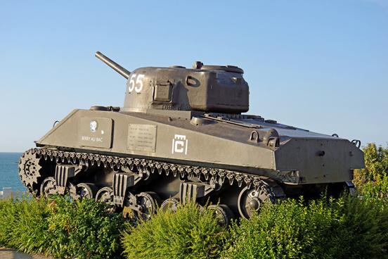 france 000789 m4a2 sherman tank