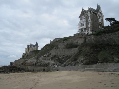 france coast rocky coast