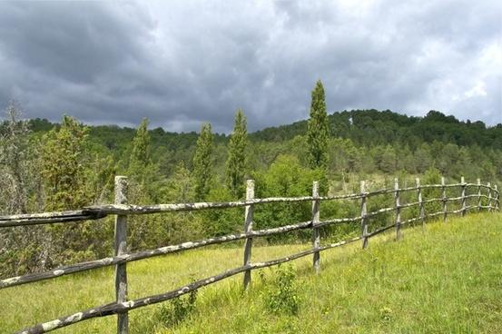 france fence landscape