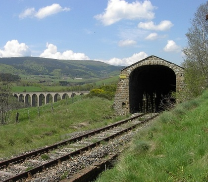 france landscape railroad