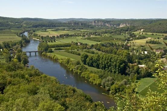france landscape river