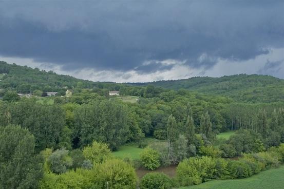 france landscape sky