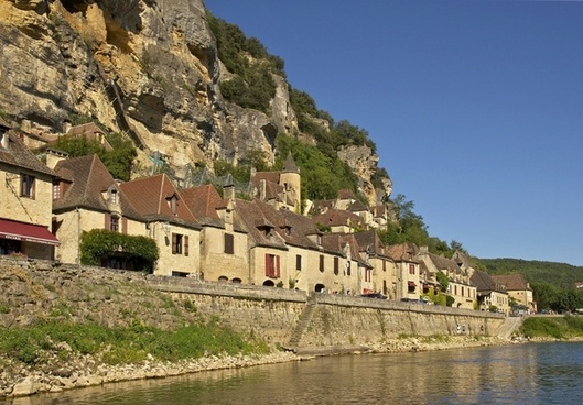 france town buildings