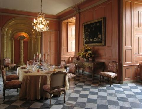 france villandry castle inside