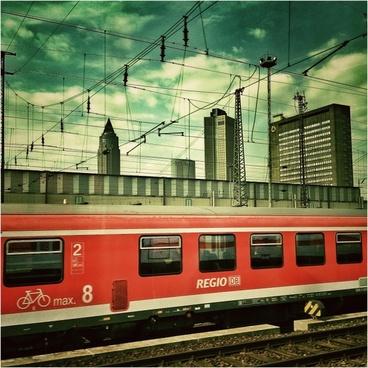 frankfurt railway station railway