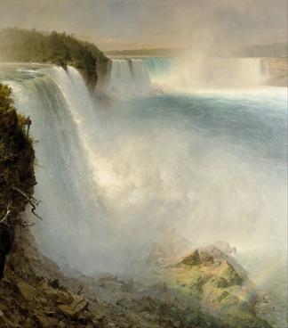 fredric church niagara falls waterfalls