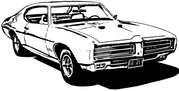 Pontiac Gto Vector Free Vector Download 18 Free Vector For