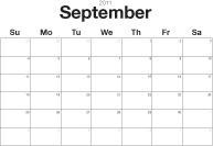 Free 2011 full vector Calendar